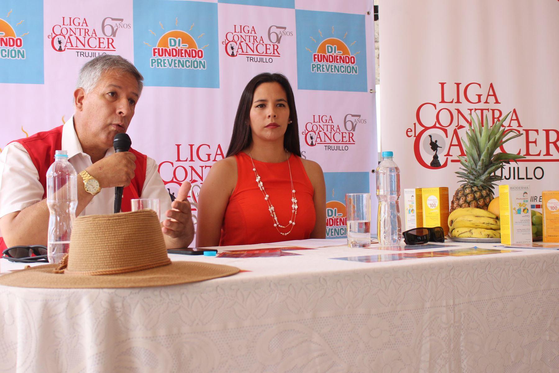 Liga Contra el Cáncer de Trujillo hará despistajes gratuitos de cáncer de piel en playas y balnearios de la región La Libertad. ANDINA/Difusión