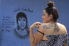 Nathaly Mancisidor tiene 23 años y ya sabe lo que significa perder a un ser querido por el cáncer. ANDINA/Juan Carlos Guzmán