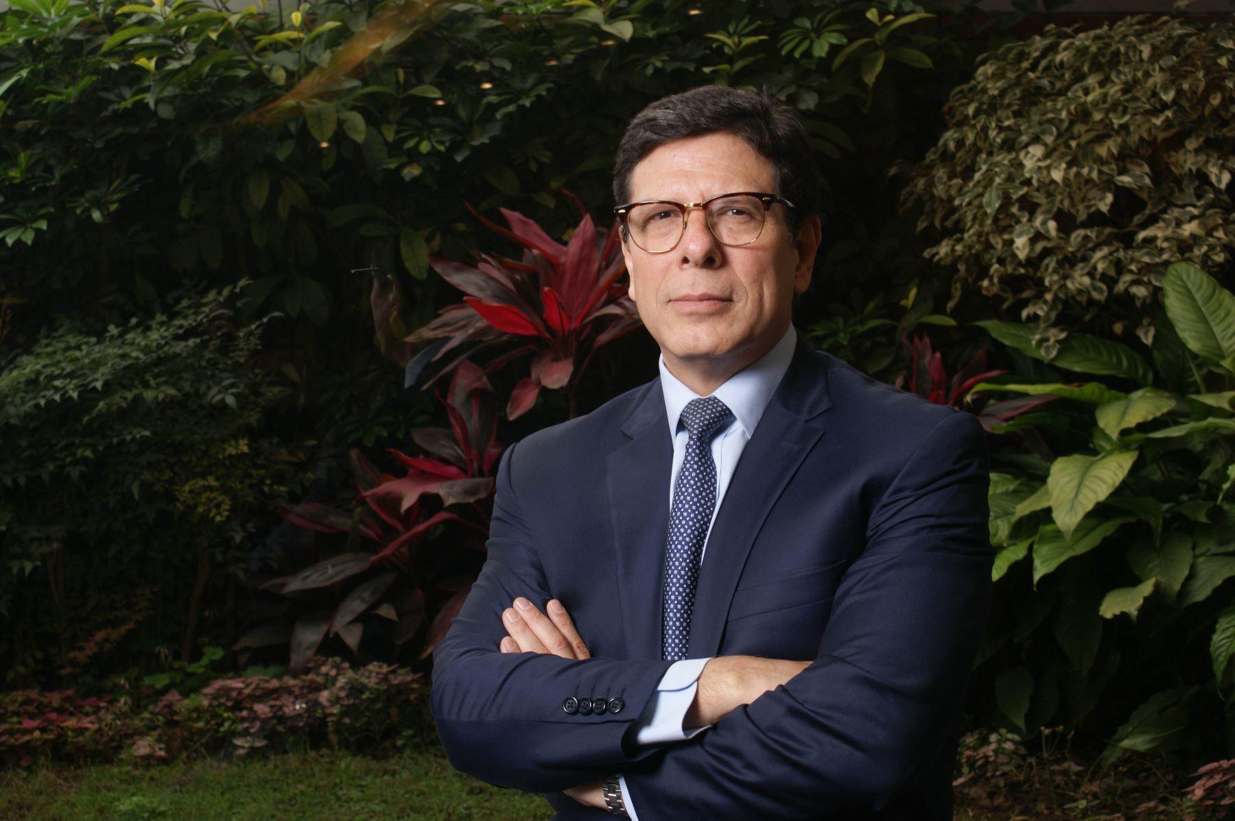 Martín Naranjo. Presidente de la Asociación de Bancos del Perú (Asbanc). Foto: ANDINA/Difusión