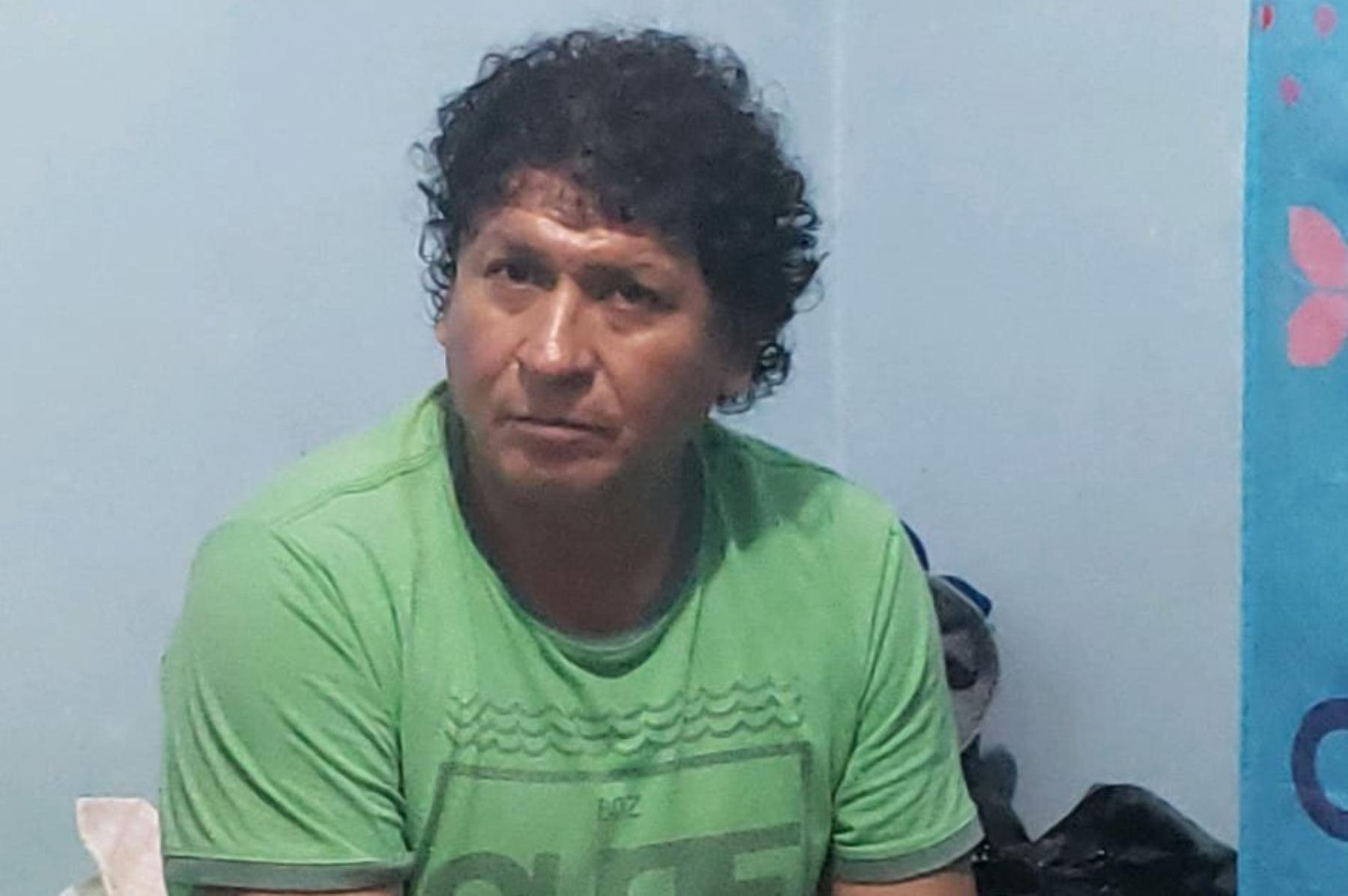 Detenido alcalde de Punta Negra. Foto: José Delgado. Foto: ANDINA/Difusión