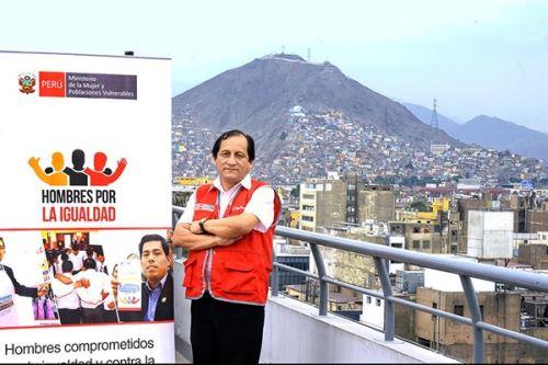José Reyes Mori es coordinador de la estrategia Hombres por la Igualdad del MIMP porque quiere acabar con el machismo que genera violencia en las familias.
