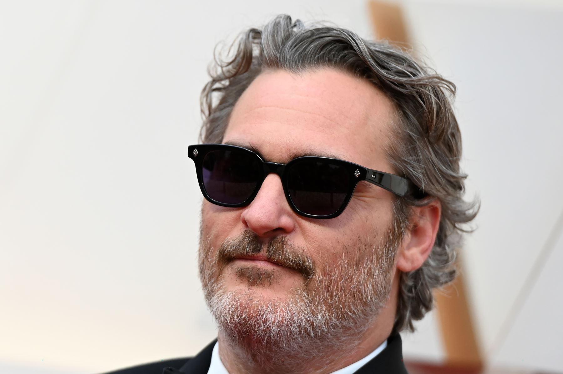 El actor estadounidense Joaquín Phoenix llega para los 92o Oscar en el Dolby Theatre de Hollywood, California. Foto: AFP