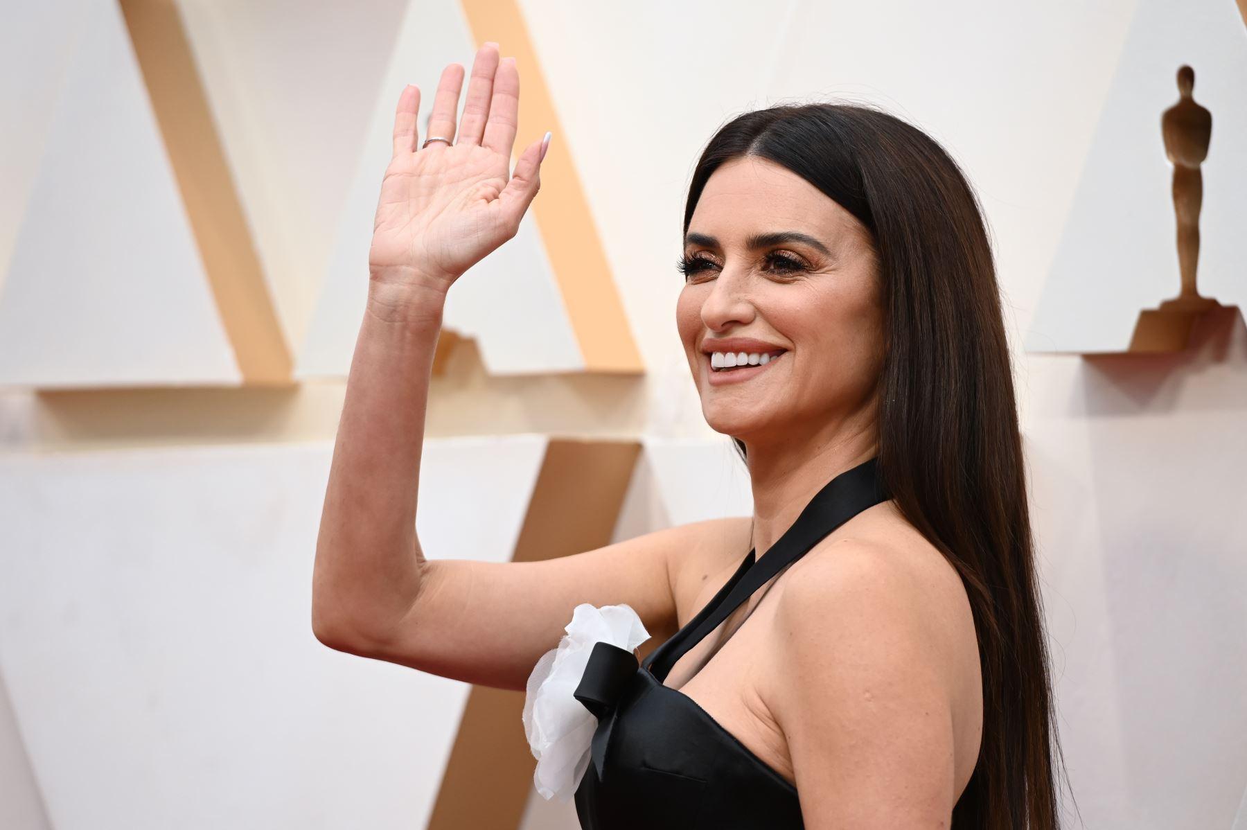 La actriz española Penélope Cruz llega para los 92o Oscar en el Dolby Theatre de Hollywood, California. Foto: AFP