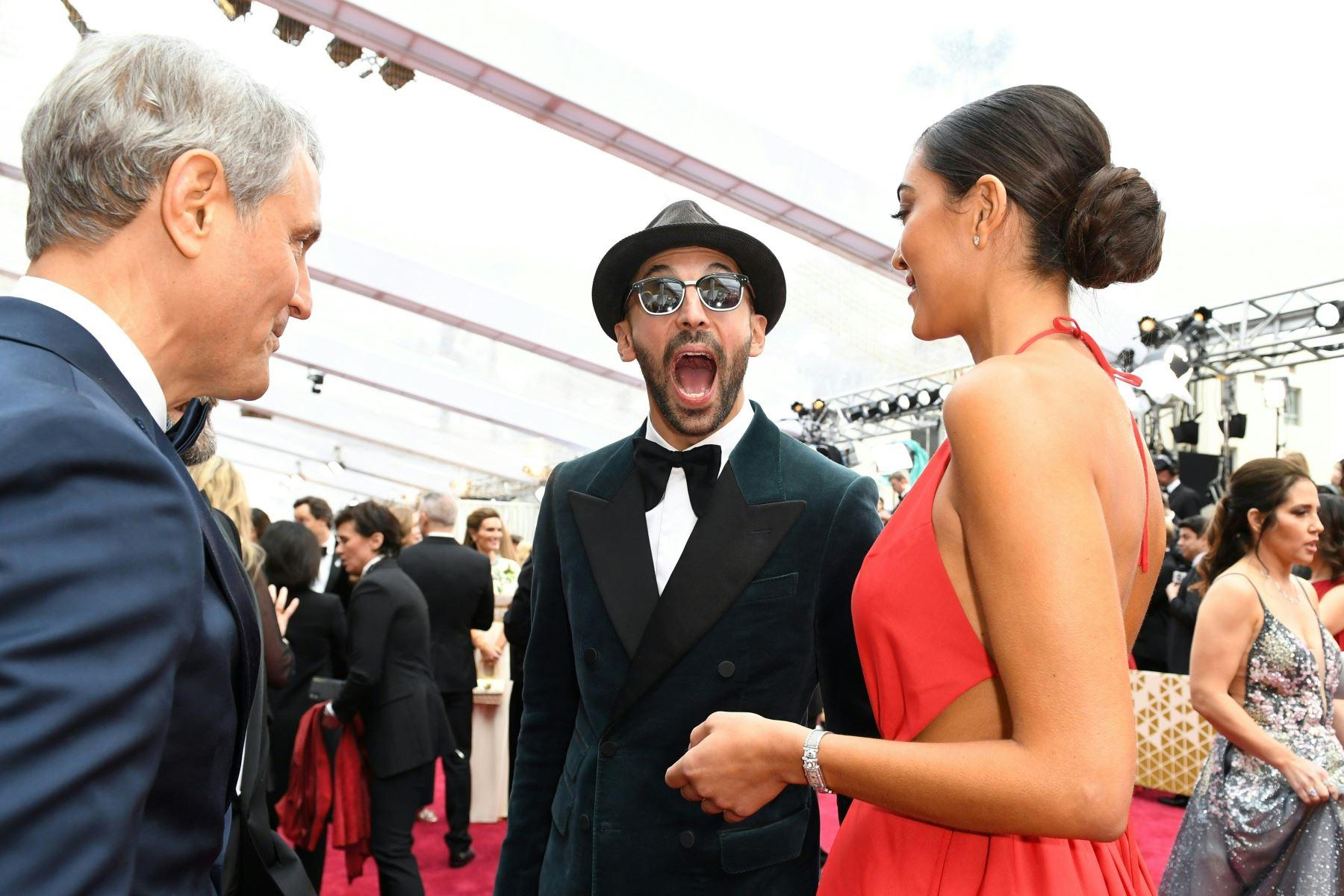JR llega para el 92 ° Oscar en el Dolby Theatre de Hollywood, California. Foto: AFP