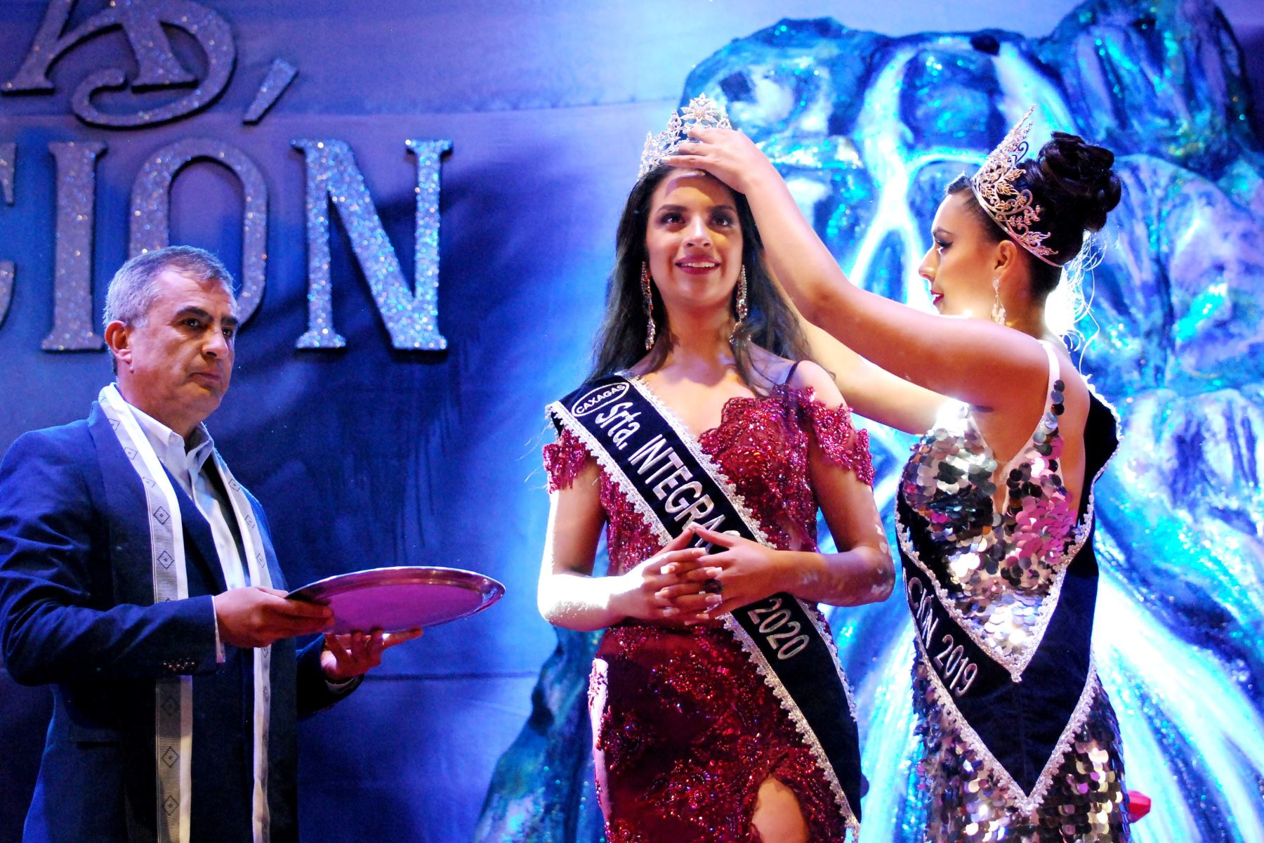 Eligen a candidata de Celendín como Reina Integración del tradicional Carnaval de Cajamarca. Foto: Eduard Lozano