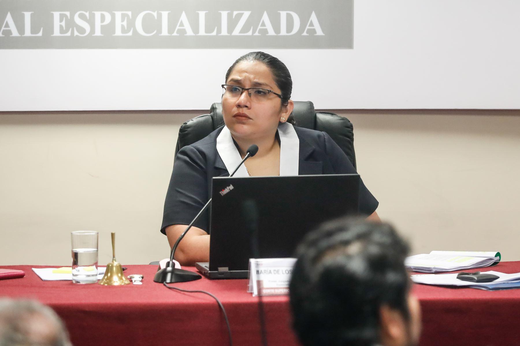 Jueza María Álvarez Camacho, del Primer Juzgado de Investigación Preparatoria Nacional. Foto: Renato Pajuelo