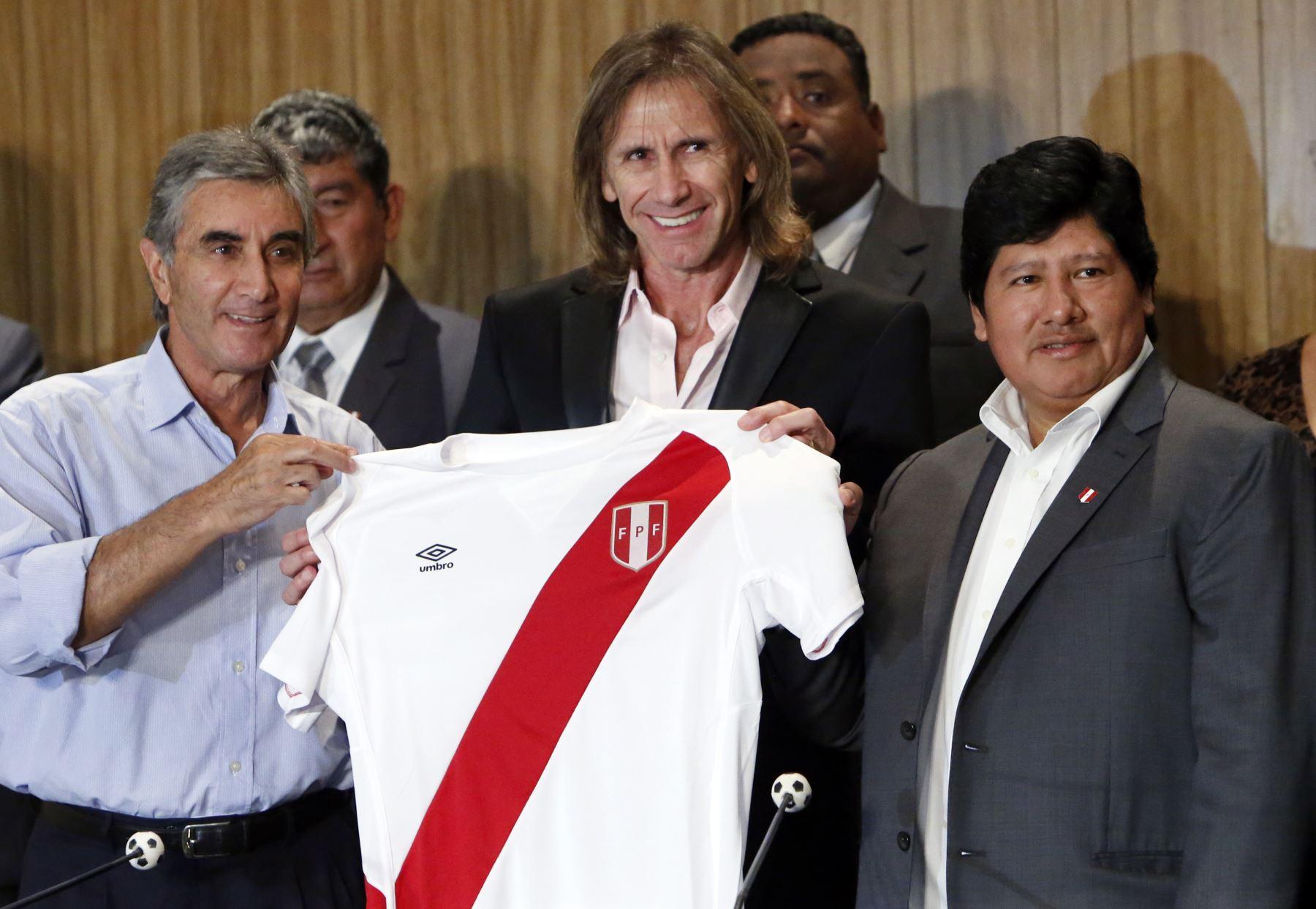 En el 2015 Ricardo Gareca se convierte en el flamante entrenador de la selección peruana. Foto: AFP