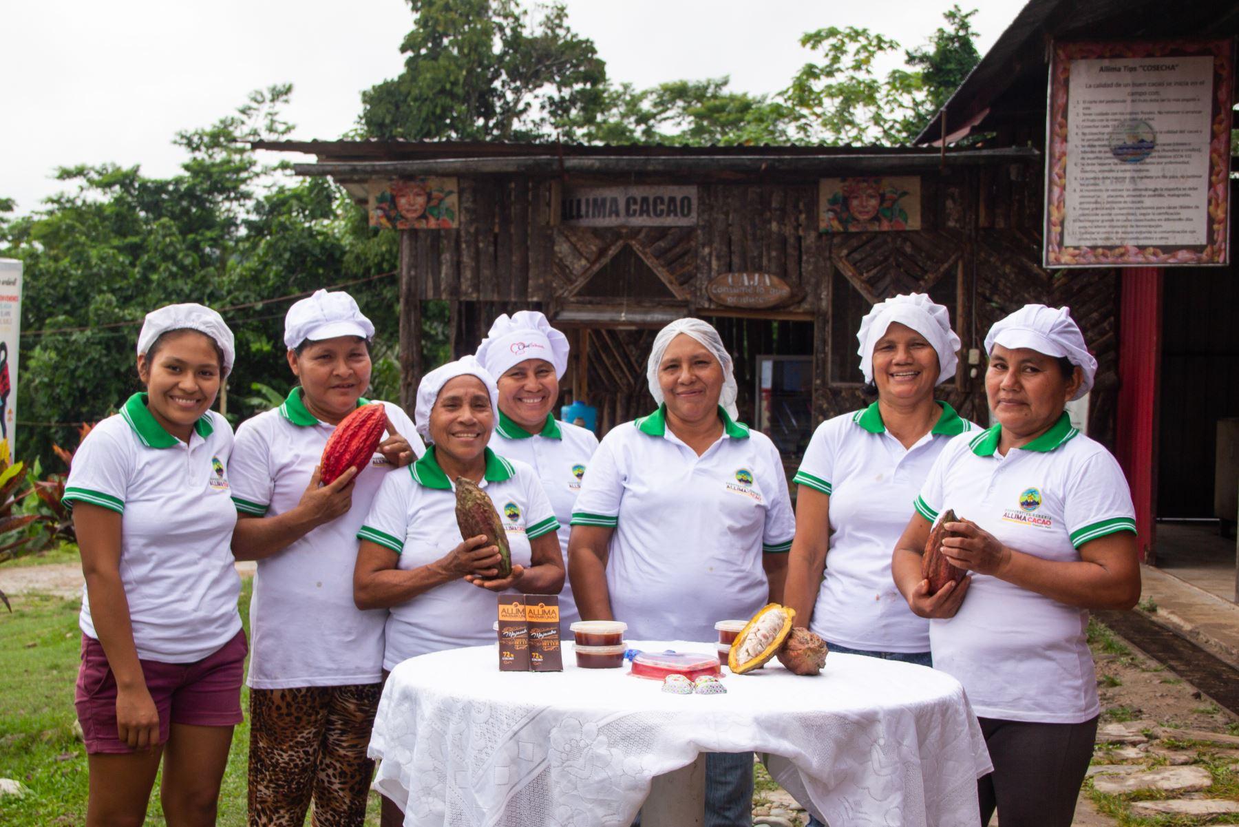 El cacao orgánico de San Martín y Ucayali se lucirá en BioFach, la más importante feria mundial de alimentos orgánicos que se celebrará en Alemania. ANDINA/Difusión
