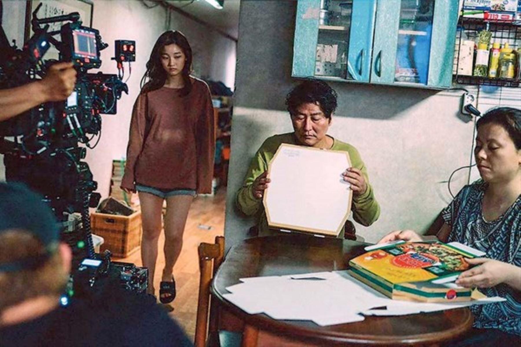 Filmación de Parásitos de Bong Joon-ho