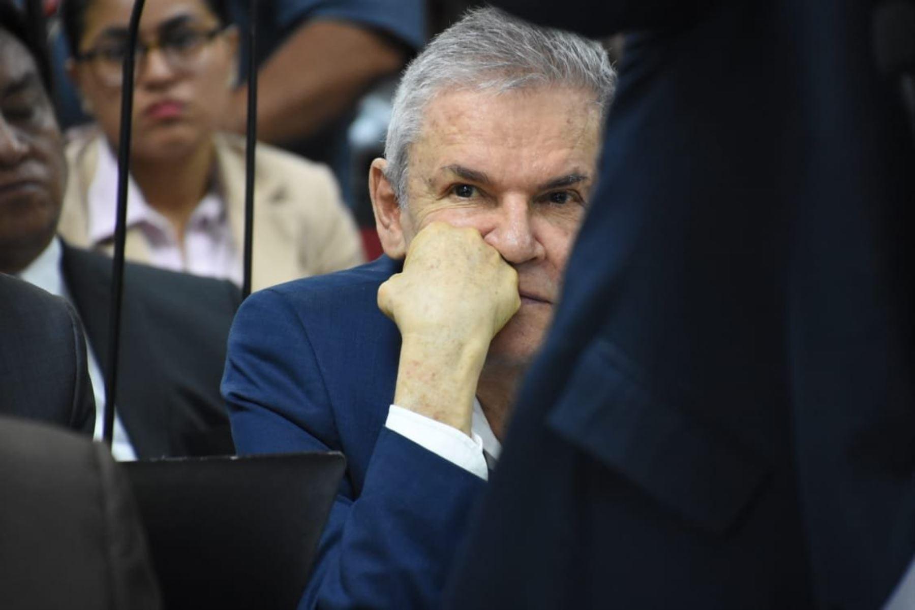 Exalcalde de Lima Luis Castañeda Lossio asiste a audiencia de prisión preventiva por 36 meses.