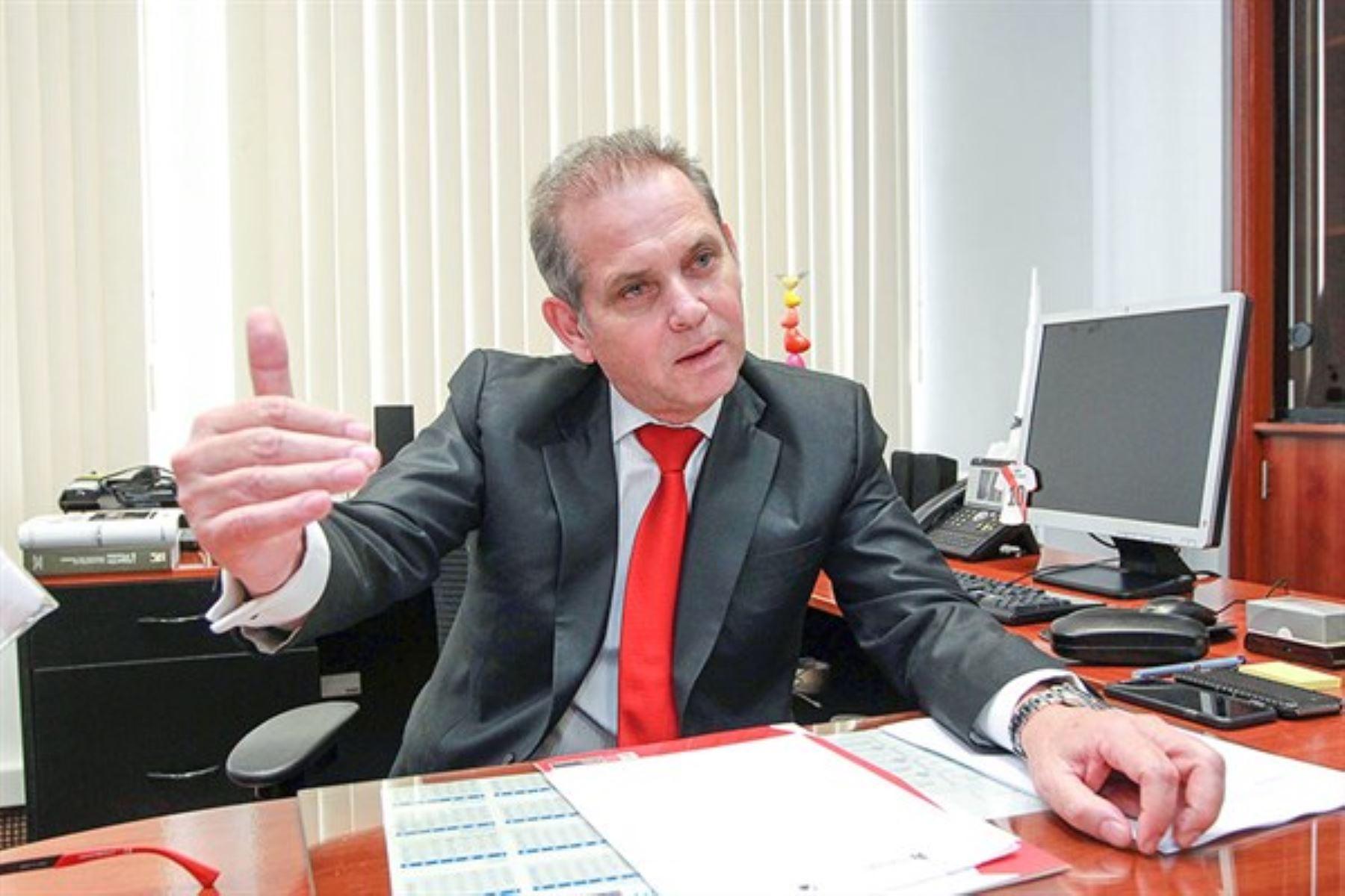 Viceministro de Trabajo y Promoción del Empleo, Augusto Eguiguren