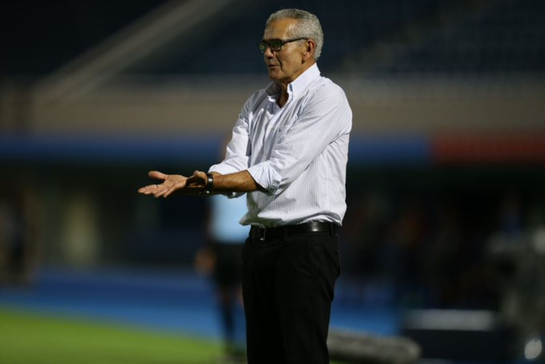 Gregorio Pérez quedó conforme con el rendimiento de su equipo