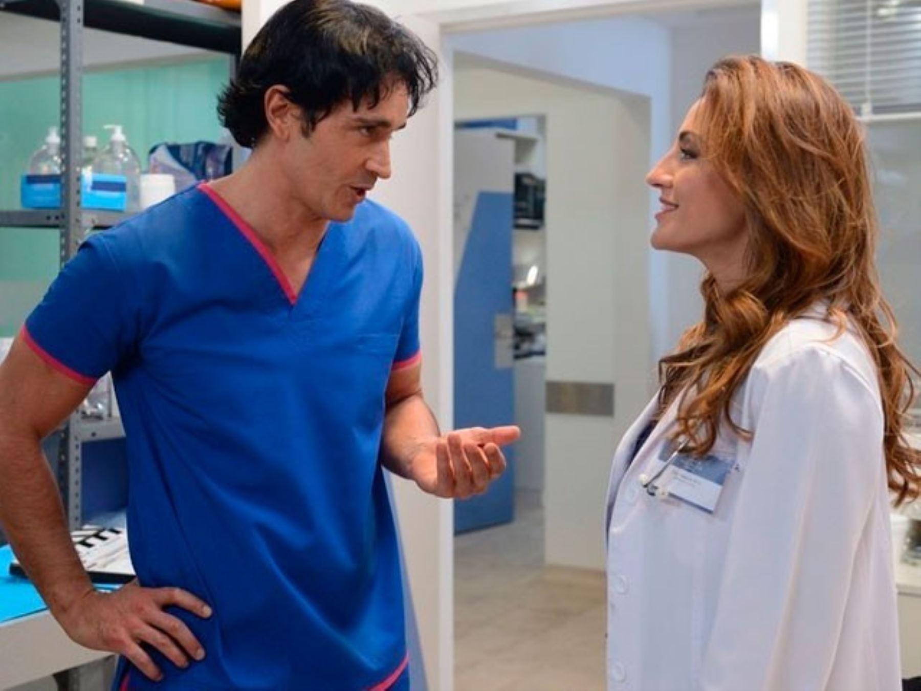 """La producción """"Golpe al corazón"""" se emitirá por TV Perú desde este lunes 17."""