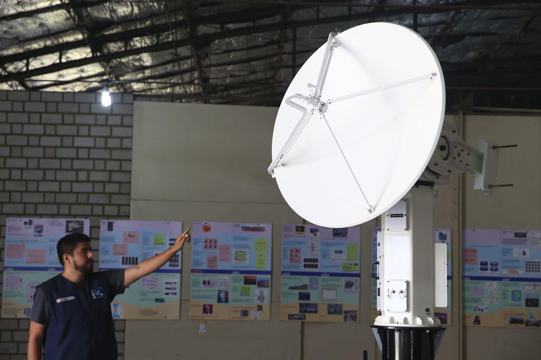Primer radar hecho en el Perú podrá lanzar alertas de huaicos. ANDINA