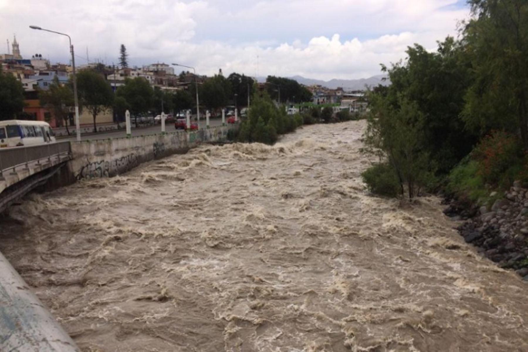 En Arequipa evalúan suspender tránsito por puentes debido al aumento del caudal del río Chili. Foto: ANDINA/Difusión