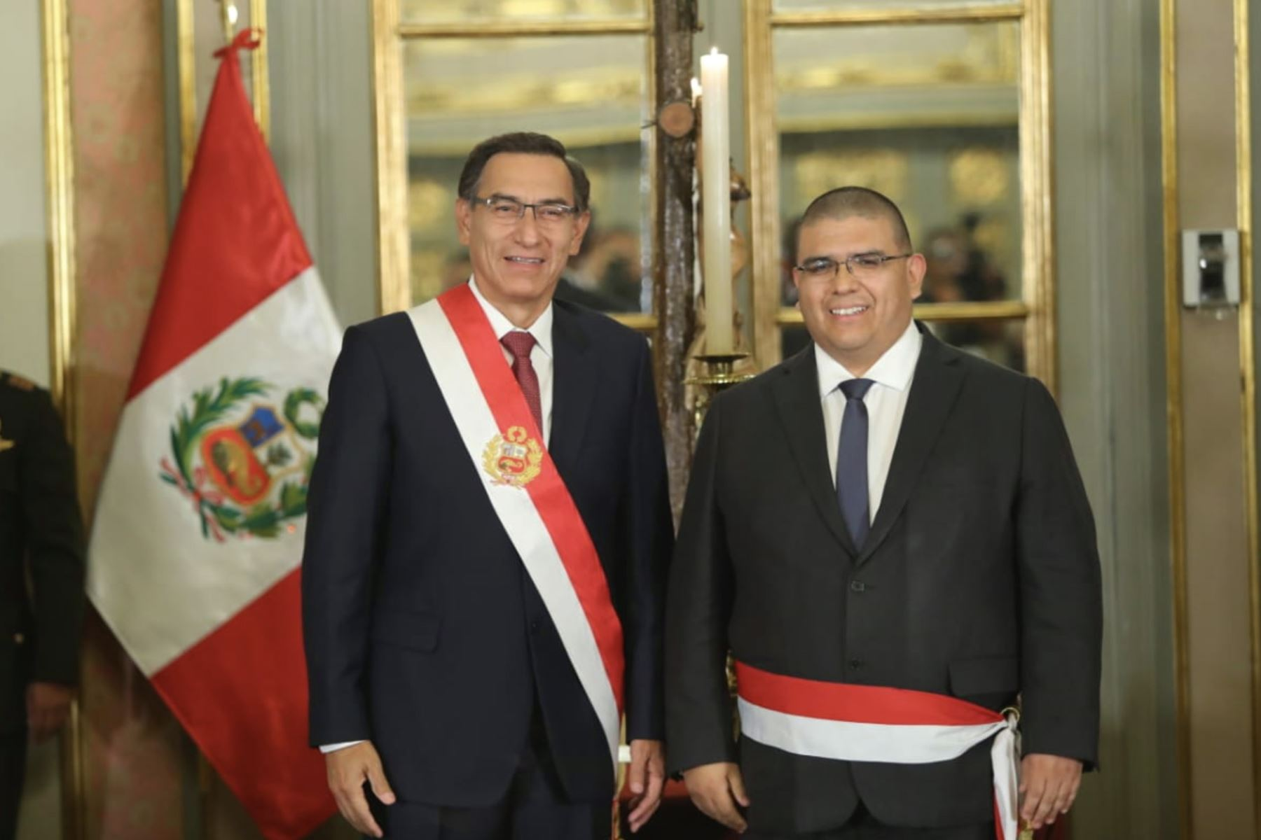 Fernando Castañeda Portocarrero, asume el cargo de ministro de Justicia y Derechos Humanos. Foto: ANDINA /Prensa Presidencia