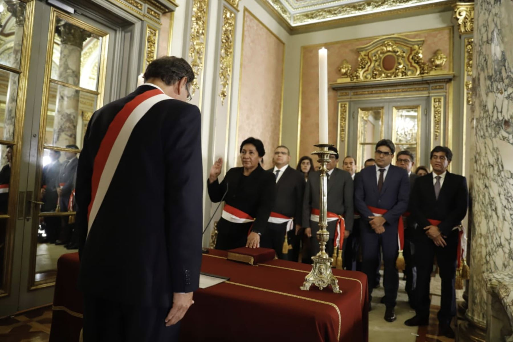 Susana Vilca Achata, asume el cargo de ministra de Energía y Minas. Foto: ANDINA / Prensa Presidencia