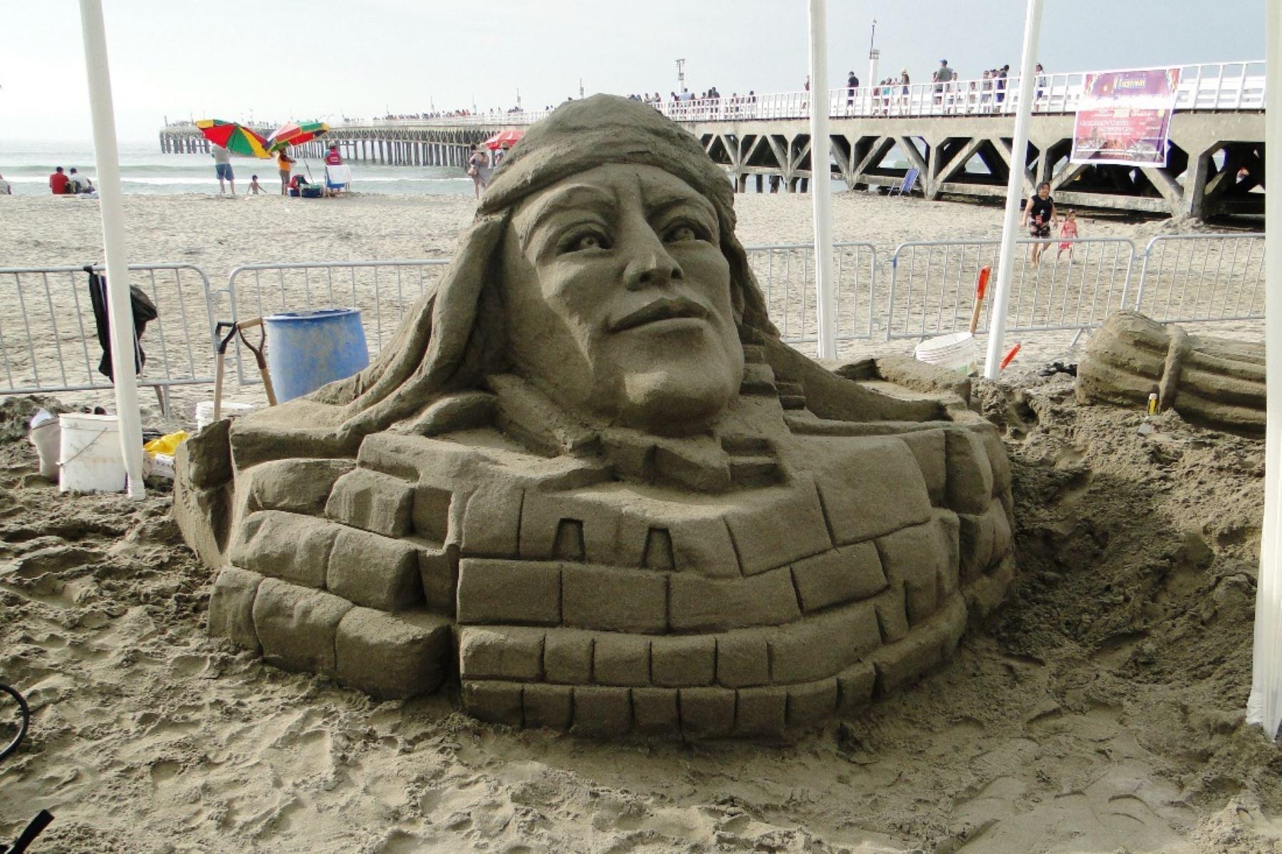 Playa Agua Dulce: veraneantes reflexionarán sobre el patrimonio cultural. Foto: ANDINA/Difusión.