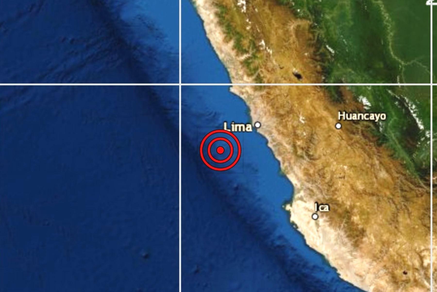 Un sismo de magnitud 4.7 se registró en el Callao. Foto: ANDINA/Difusión.