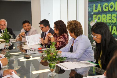 Osinfor gestiona nuevas alianzas estratégicas para construir la gobernanza forestal y de fauna silvestre. ANDINA/Difusión