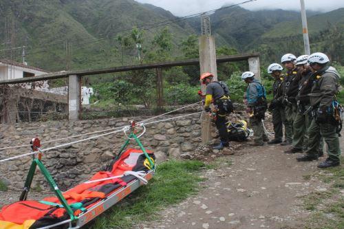 Machu Picchu, Sernanp, nuevos equipos de rescate, comunicación satelital