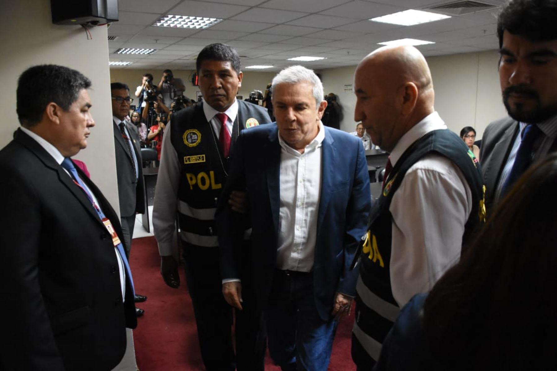 Dictan 24 meses de prisión preventiva a Luis Castañeda. Foto: ANDINA/Difusión