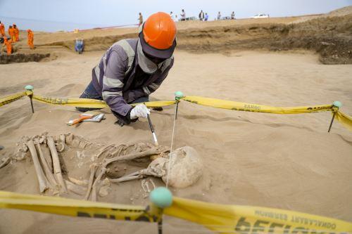 Obras de rescate arqueológico del proyecto Ampliación de la frontera Agrícola Lomas de Ilo