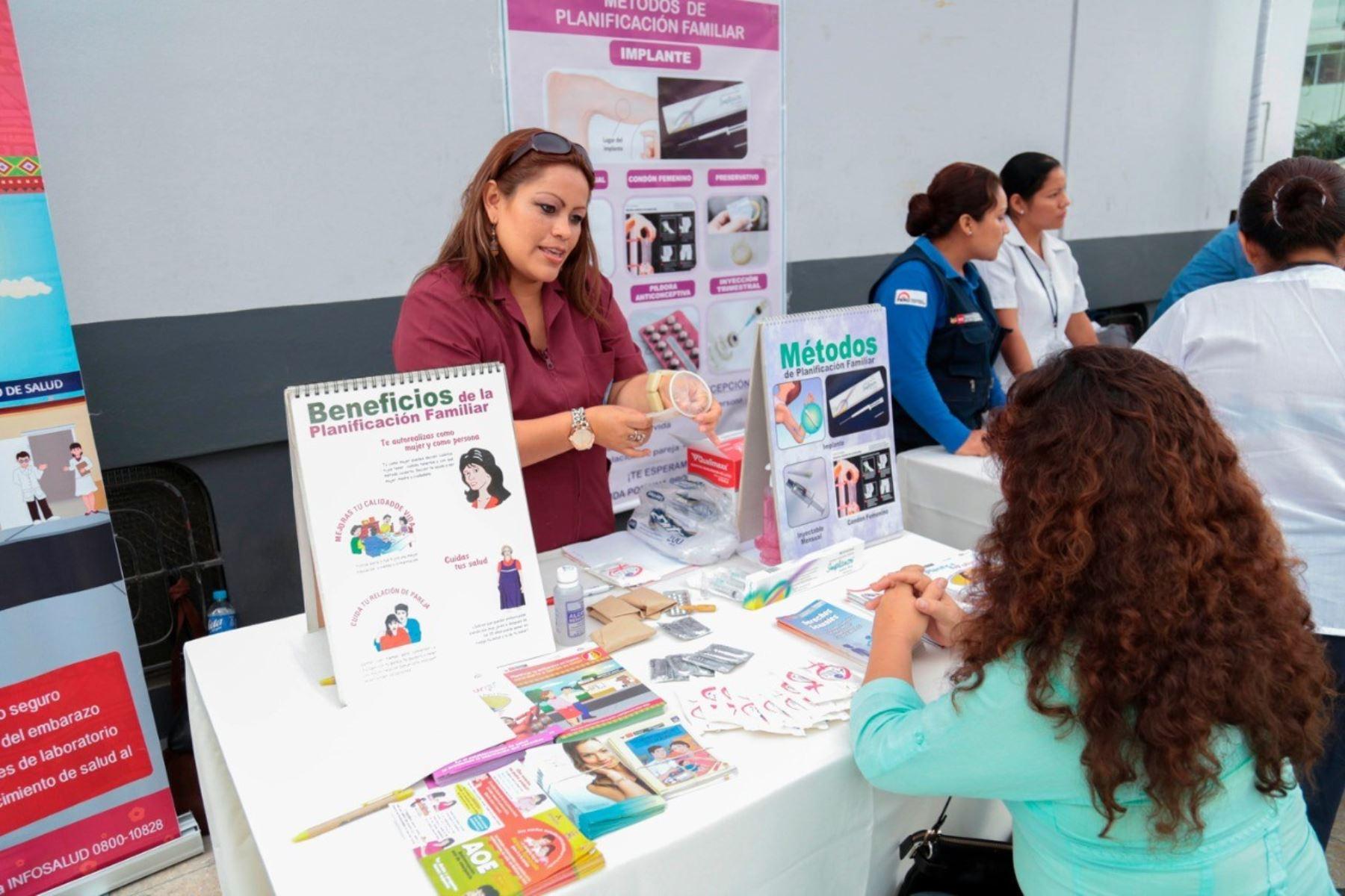 Minsa ofrece trece métodos anticonceptivos de manera gratuita a la población. Foto: ANDINA/Difusión.