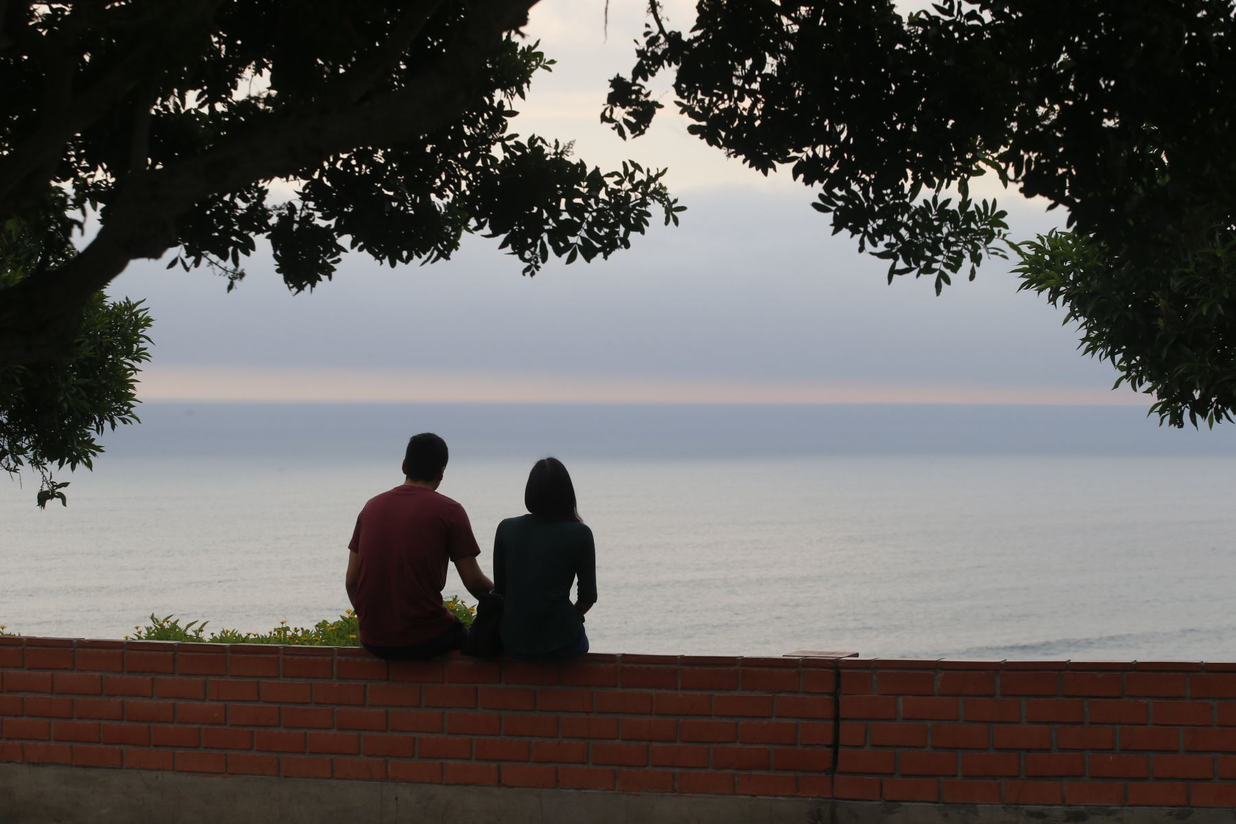 En el día de San Valentín, parejas celebran el día de la amistad y el amor.   Foto: ANDINA/Eddy Ramos
