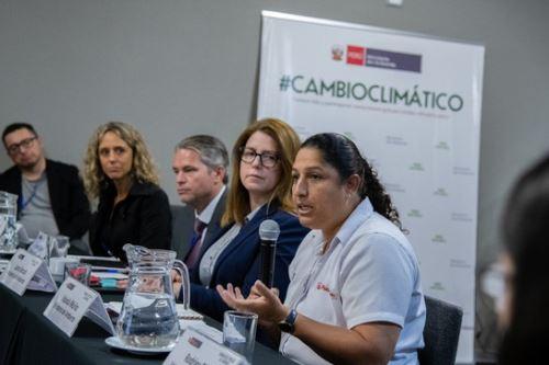 La ministra del Ambiente, Fabiola Muñoz, clausura  la Semana del Precio al Carbono, encuentro internacional organizado por el Ministerio del Ambiente (Minam)