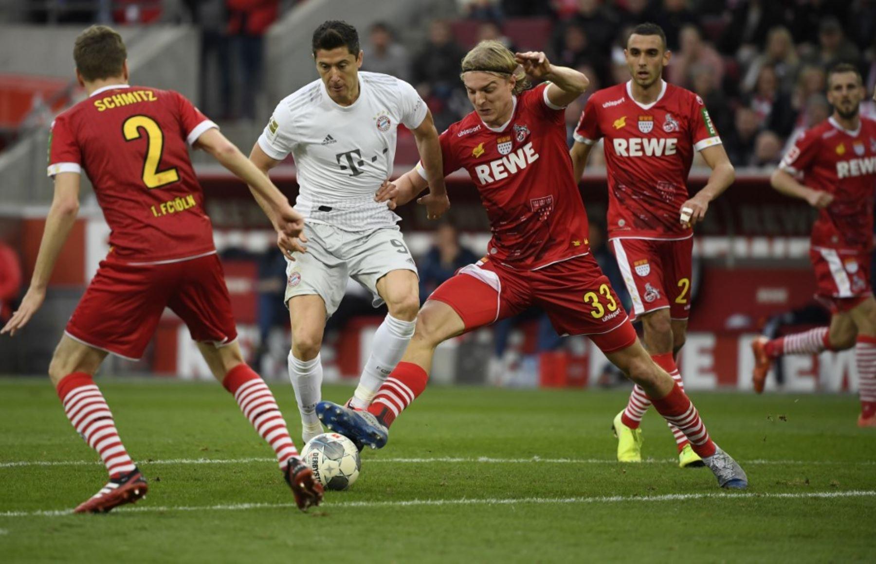 Bayern de Múnich seguirá en lo más alto de la clasificación de la Bundesliga tras golear 4-1 en el campo del Colonia