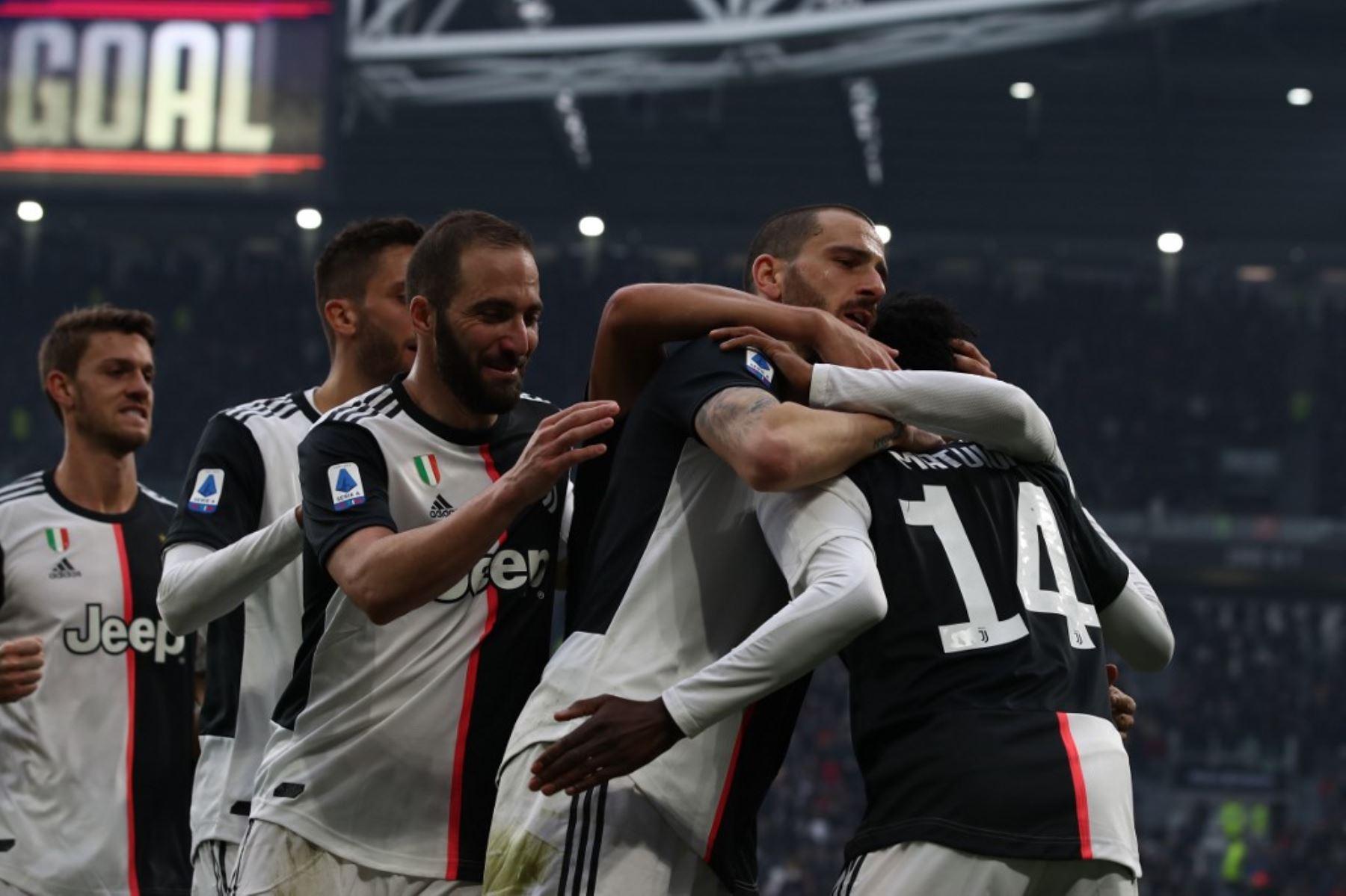 La Juventus, sin Ronaldo, se puso como líder provisional del Calcio italiano