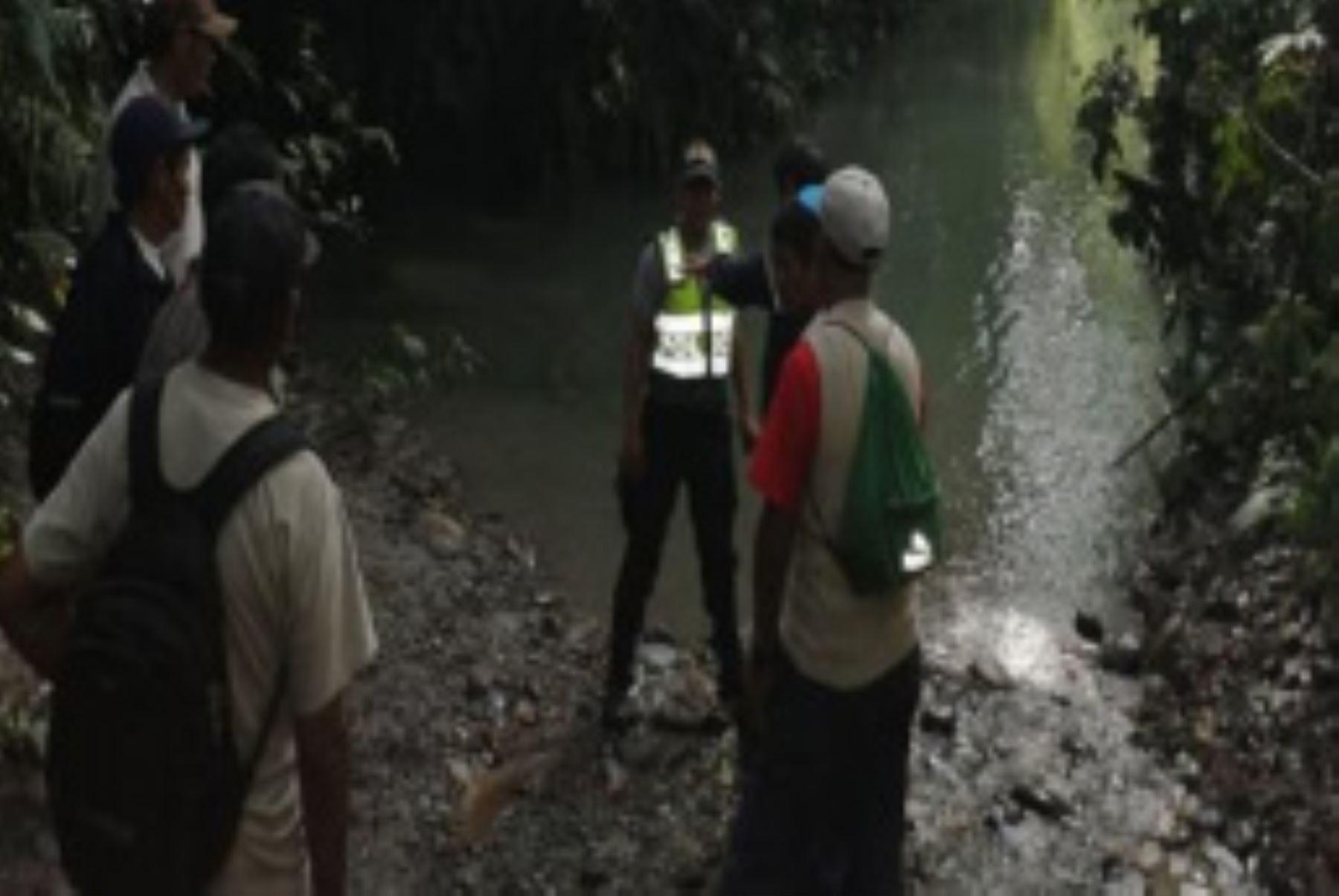 Una embarcación que se dirigía al sector de Puerto Manoa, en Ayapata (Puno), naufragó en el río Inambari.