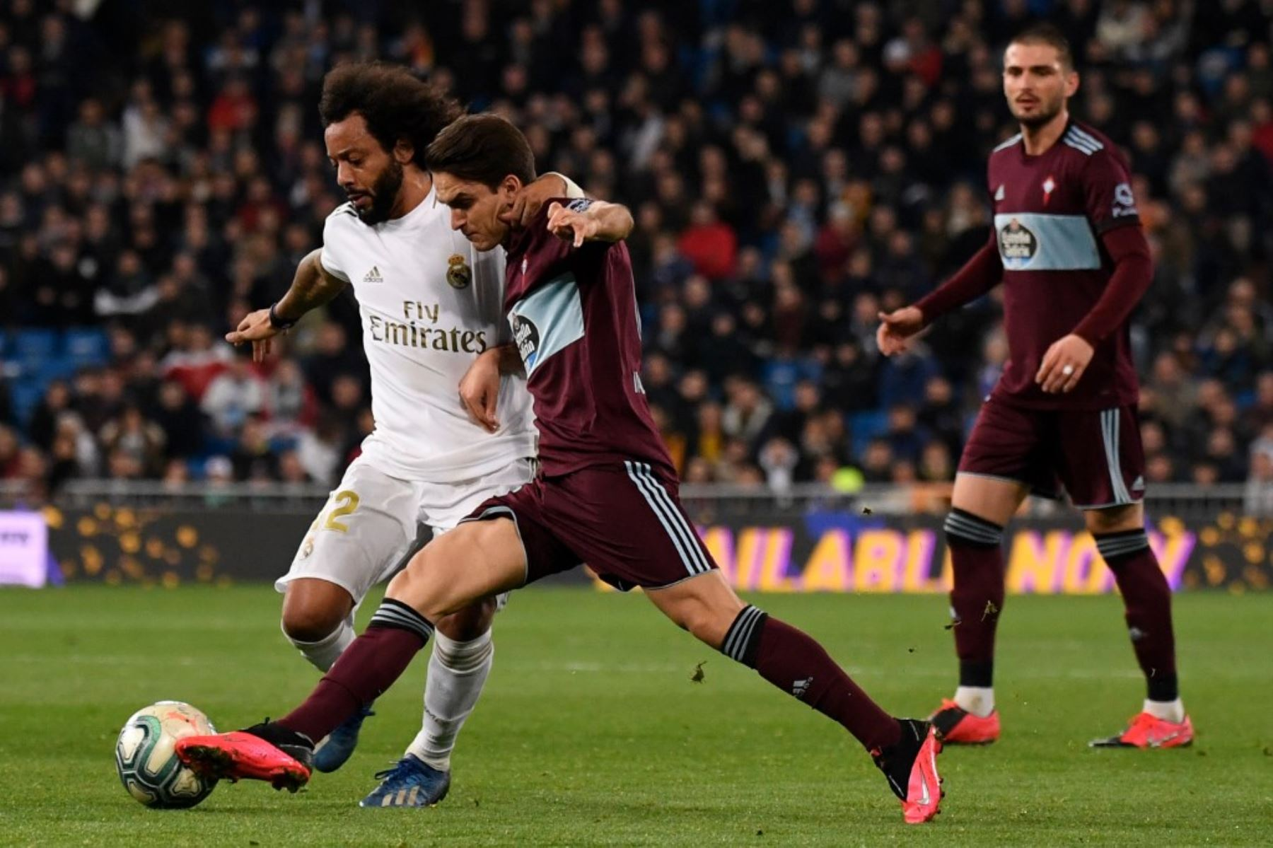 Real Madrid igualó con el Celta y  cede terreno en la lucha por la punta de la Liga de Espña