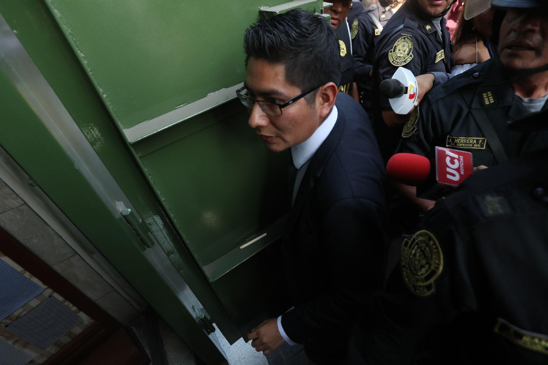 Fiscalía interviene local de hermanos Guisado en Gamarra, implicados en caso los intocables ediles. Foto: ANDINA/Melina Mejía
