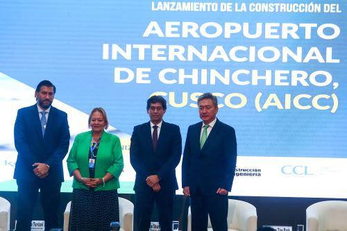 Empresas conocen más sobre la construcción del aeropuerto internacional de Chinchero-Cusco