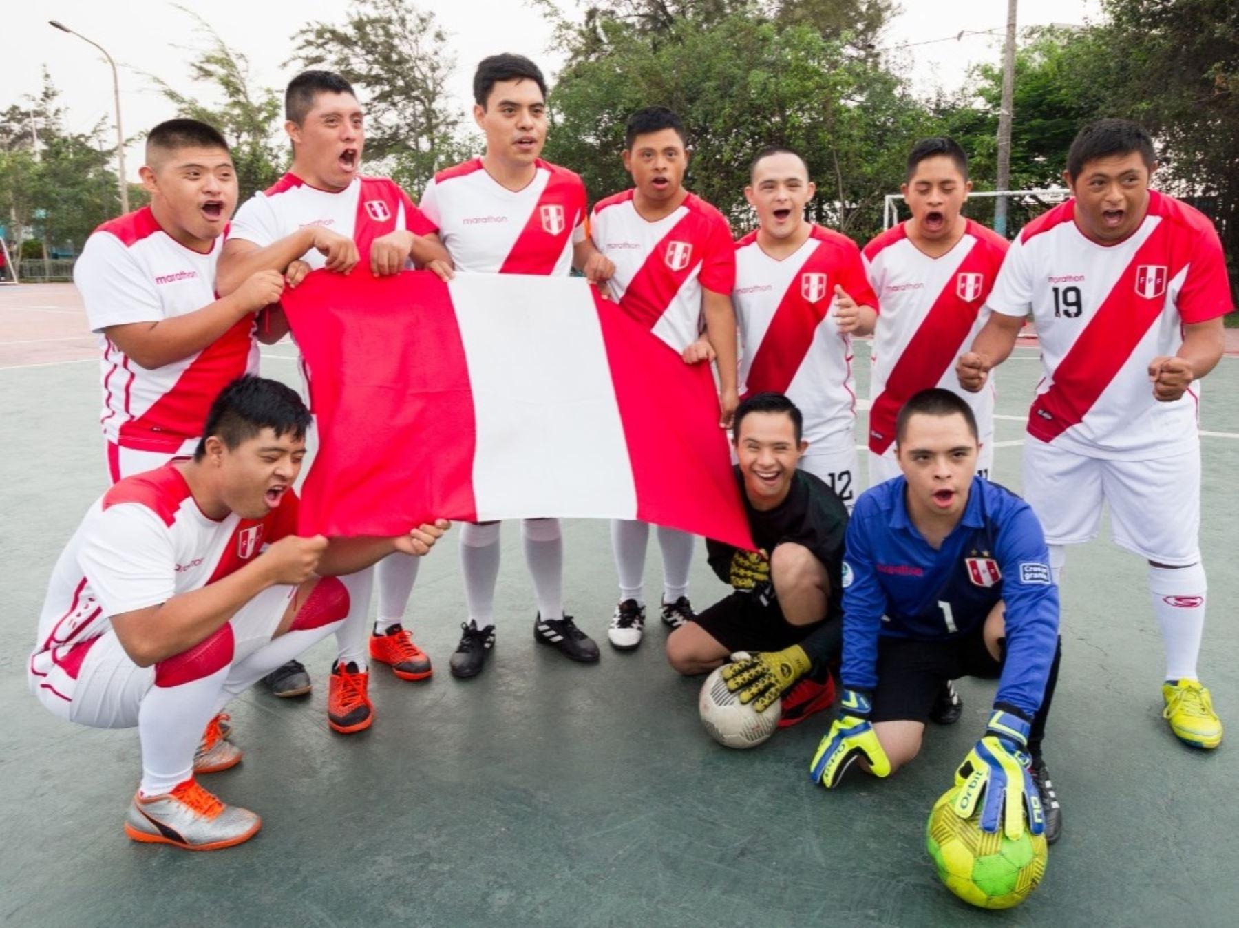 """El equipo nacional de futsal """"Empate FC - Colectivo 21"""", competirá en los Trisome Games 2020 de Turquía."""