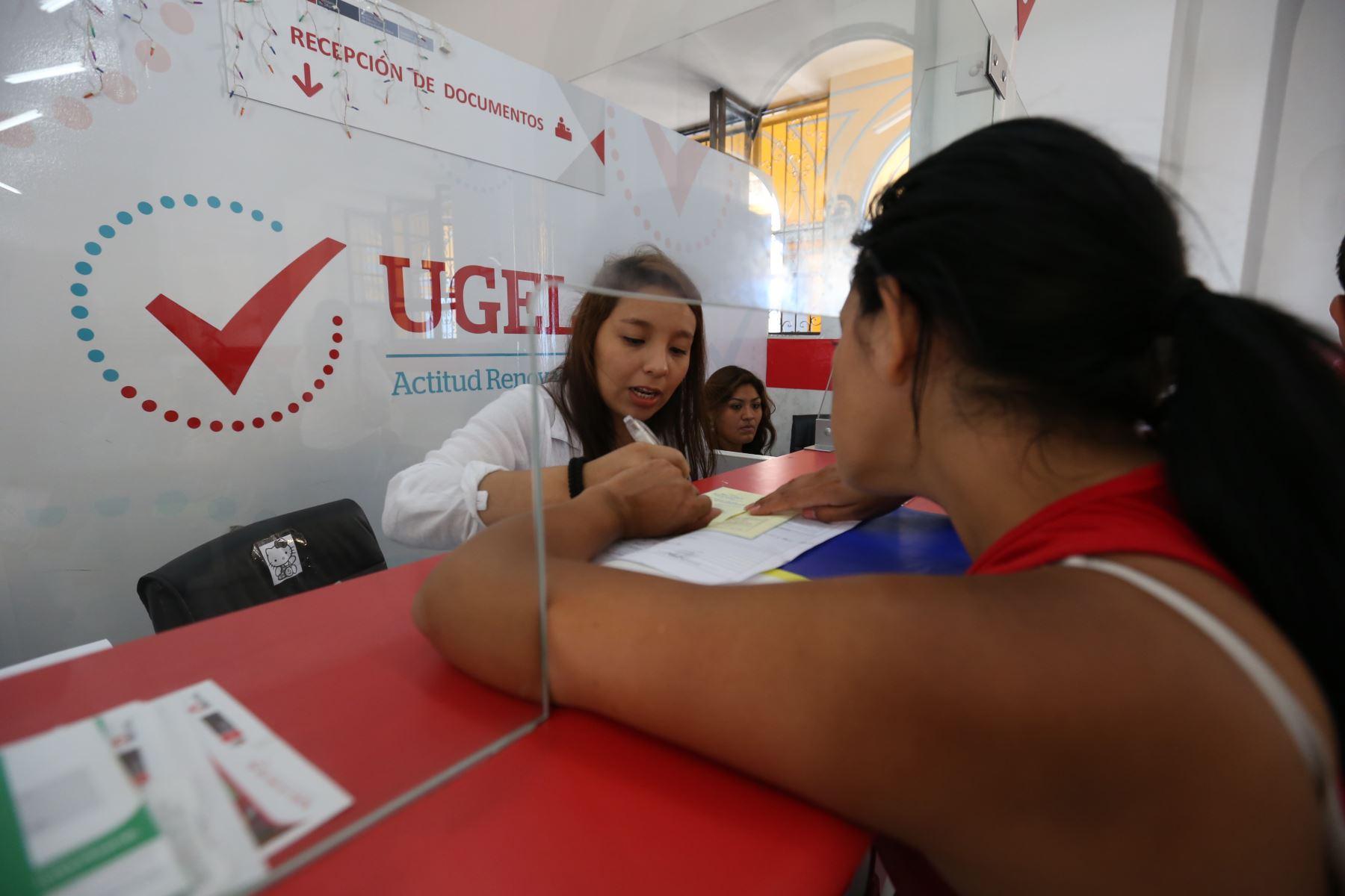 Ministerio de Educación transfiere S/ 33 millones a regiones para mejorar capacidad operativa de las UGEL.