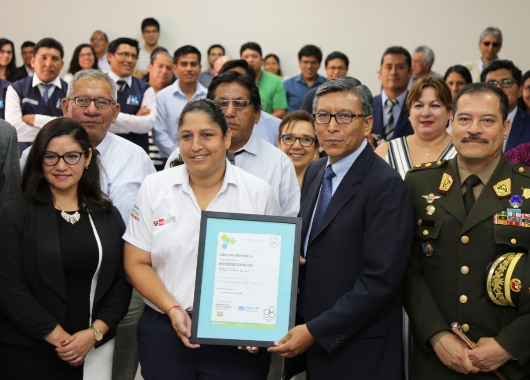 Este reconocimiento coloca al IGP como una entidad científica que brinda información clave al país, antes de que ocurran posibles sismos.