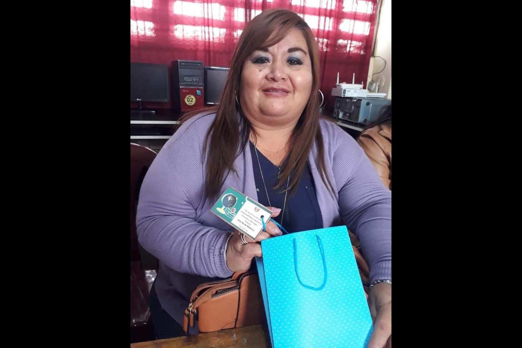 La docente Sonia Margot Reyes Molina fue sentenciada a un año y ocho meses de prisión condicional por el delito de concusión. Foto: ANDINA/Difusión