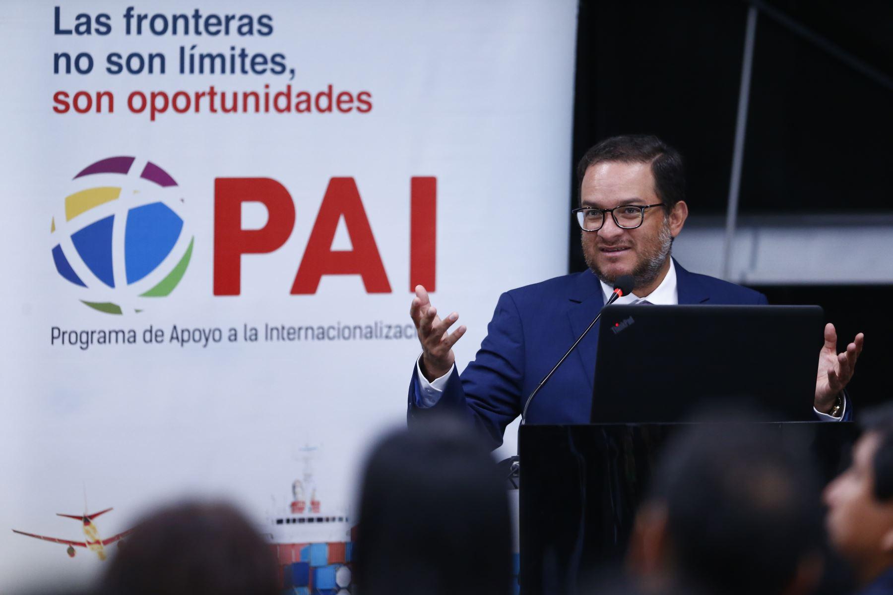 Ministro de Comercio Exterior y Turismo, Edgar Vásquez. Foto: ANDINA/Jhonel Rodríguez Robles
