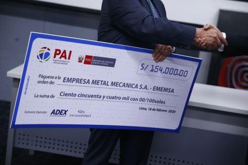 Mincetur financia a empresas peruanas para que se internacionalicen