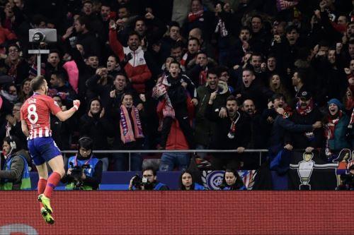 Atlético de Madrid ganó 1-0 al Liverpool por la Liga de Campeones