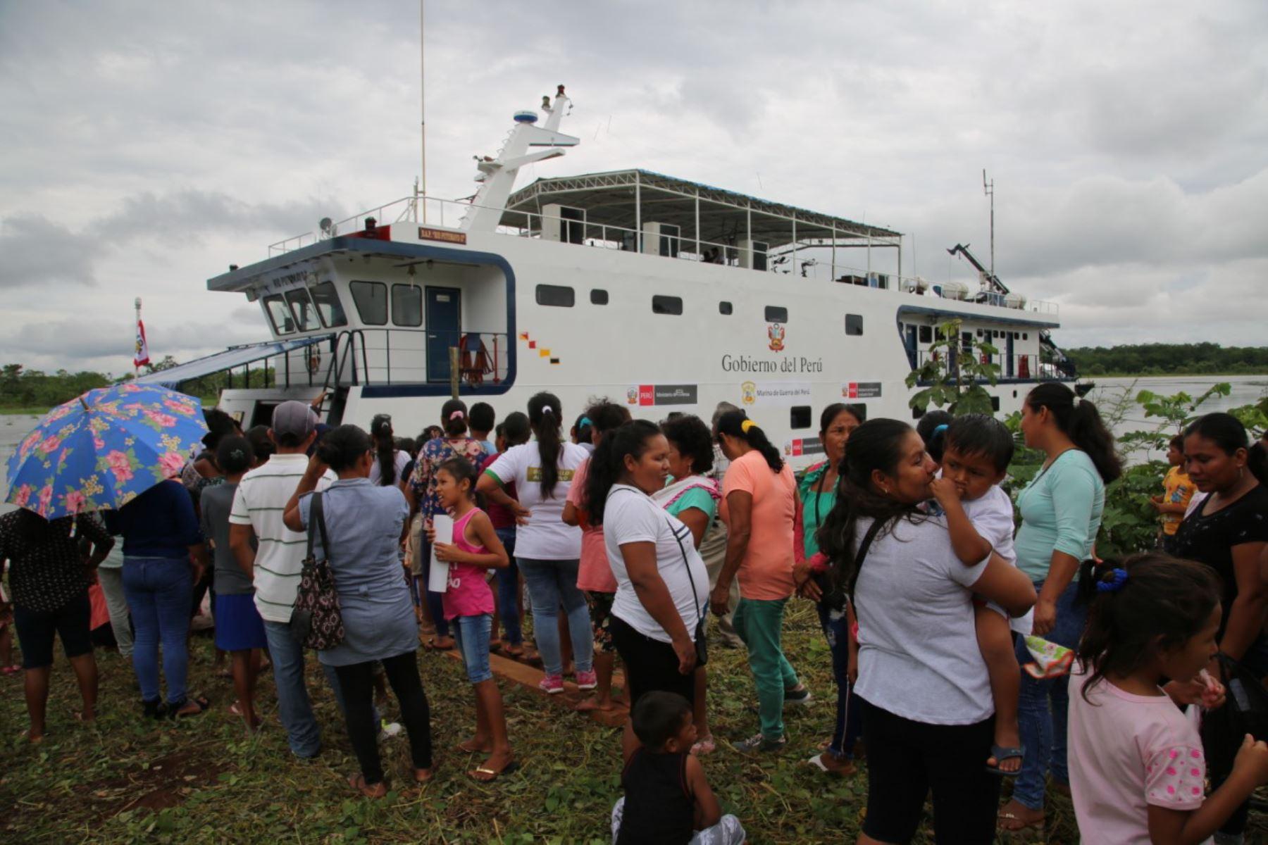 El programa PAIS coordina cinco campañas de acción social de las plataformas itinerantes de acción social (PIAS) y buques auxiliares.