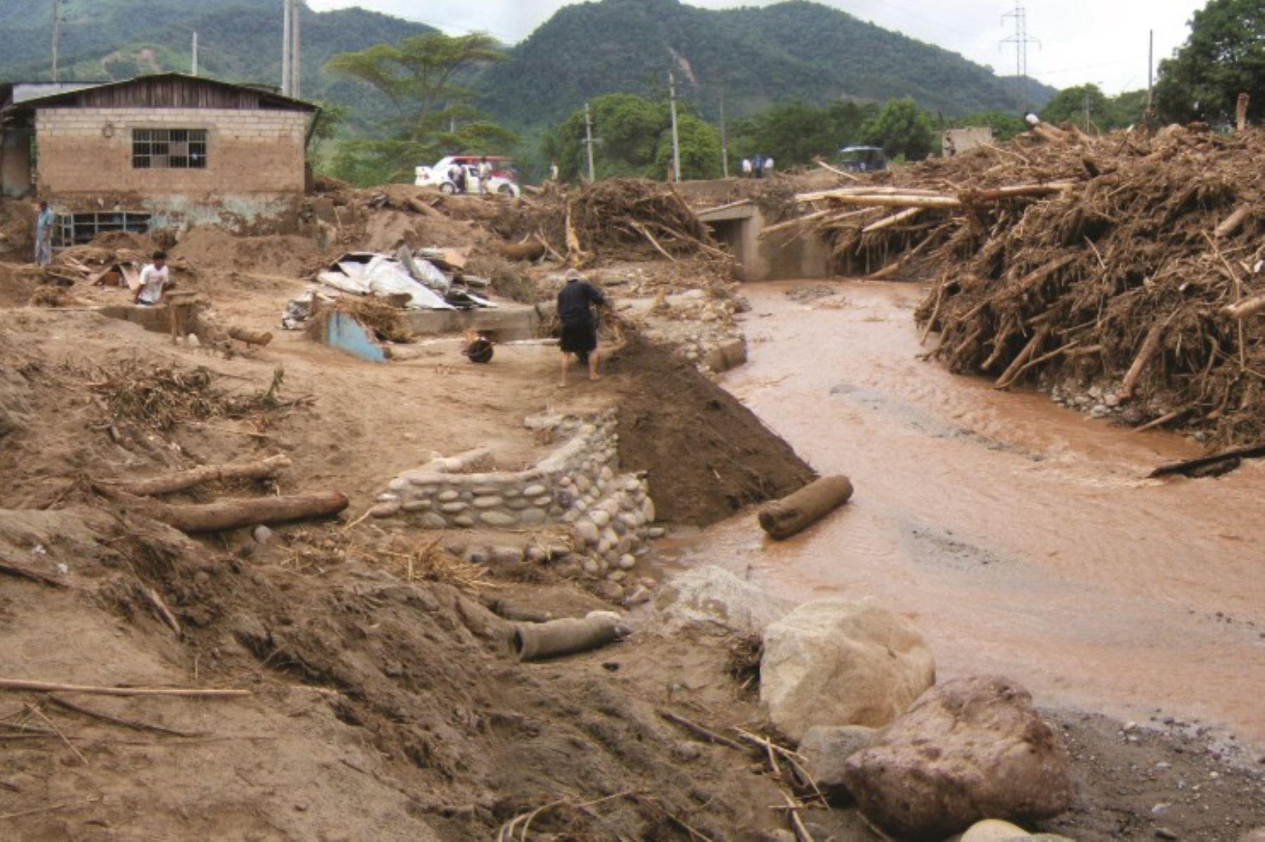 Las avalanchas, los derrumbes y deslizamientos son algunas de las ocurrencias de peligros geológicos más recurrentes en la región Junín.