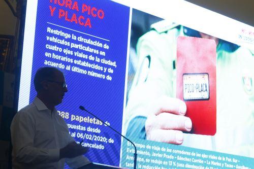 Alcalde Muñoz informa sobre los principales logros de su gestión