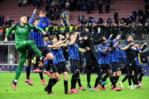 Atlanta ganó 4-0 al Valencia en partido por la Liga de Campeones en Italia