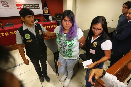Audiencia de Control de Identidad a Andrea Aguirre y Kevin Villanueva, investigados por el asesinato de la activista Solsiret Rodríguez