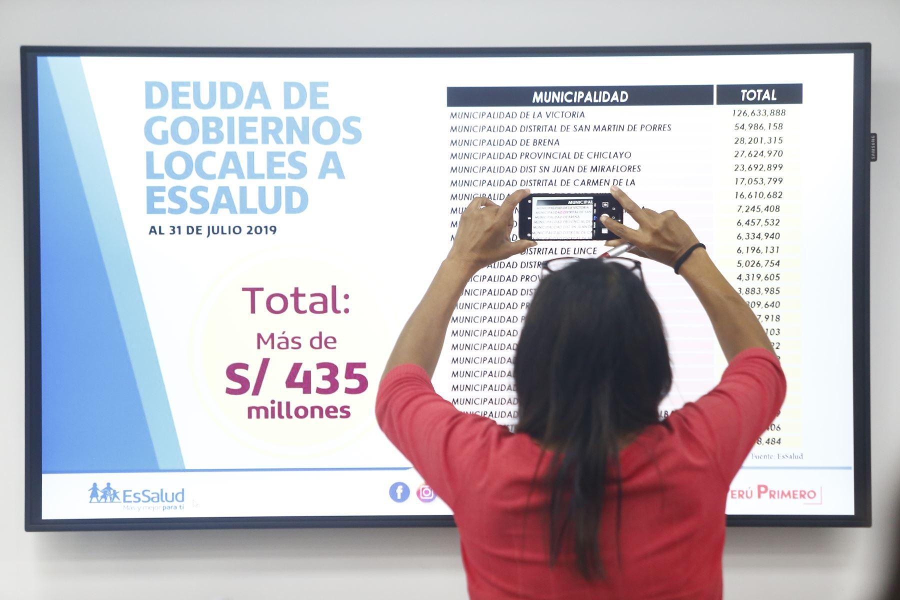 En total se espera recuperar 628 millones de soles que serán destinados a mejorar los servicios de salud en favor de los asegurados. Foto: ANDINA/Jhonel Rodríguez Robles