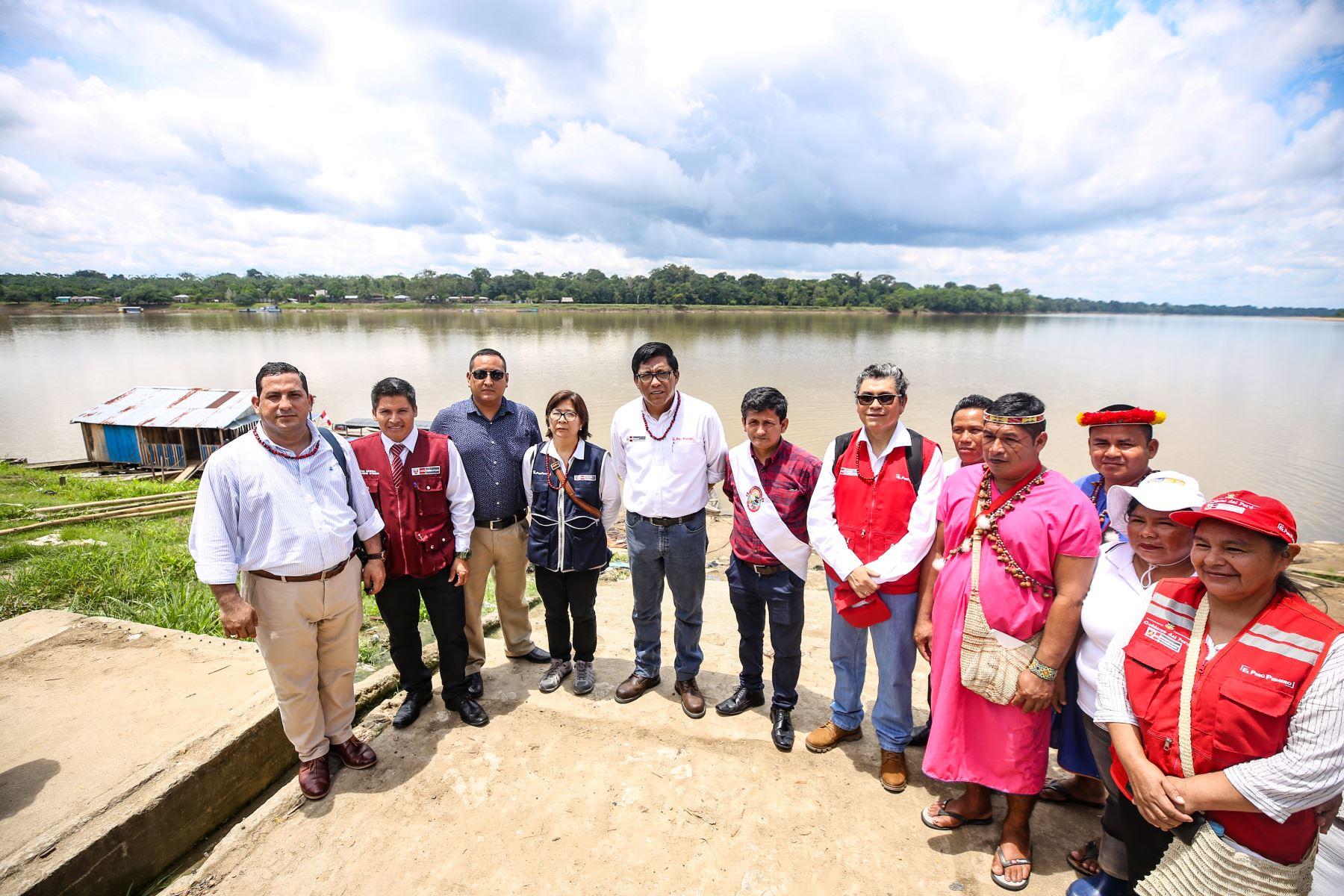 El titular de la Presidencia del Consejo de Ministros,  Vicente Zeballos llega a la ciudad de Iquitos para dirigirse a la provincia de Putumayo, donde supervisará el funcionamiento de diversos servicios públicos. Foto: PCM